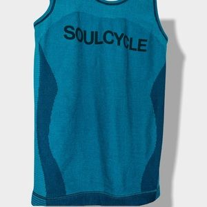 Nike x soulcycle seamless workout tank teal small